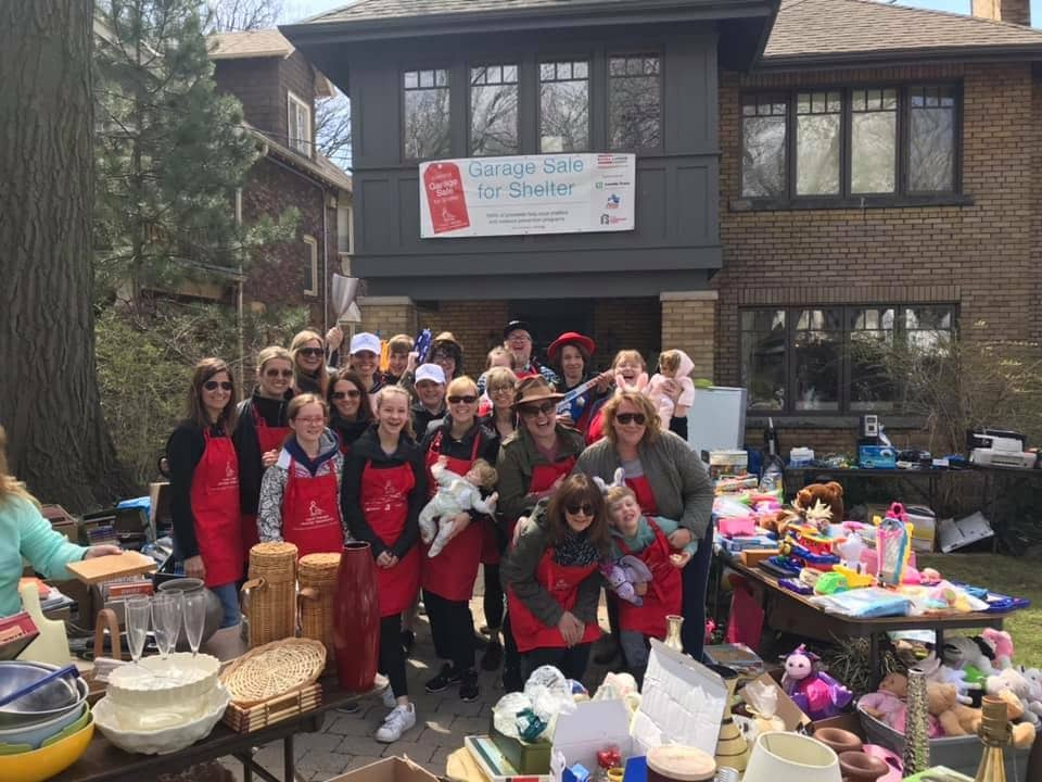 Socially Distanced Garage Sale for the Red Door Family Shelter